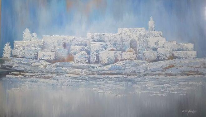 Jerusalem in the Mist