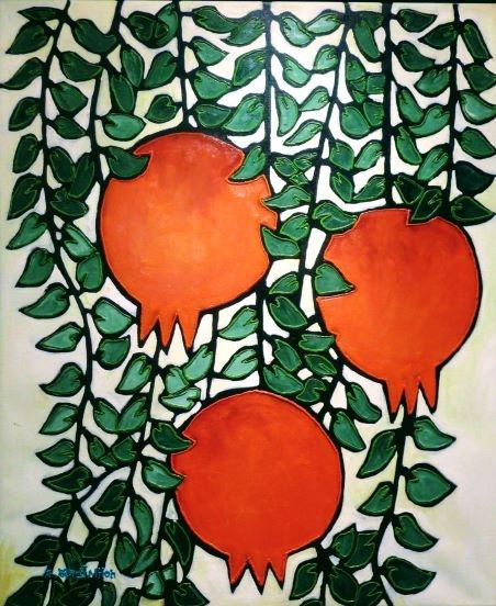 Pomegranates Trio