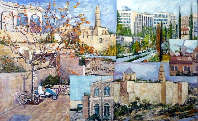 Jerusalem Mamilla Views