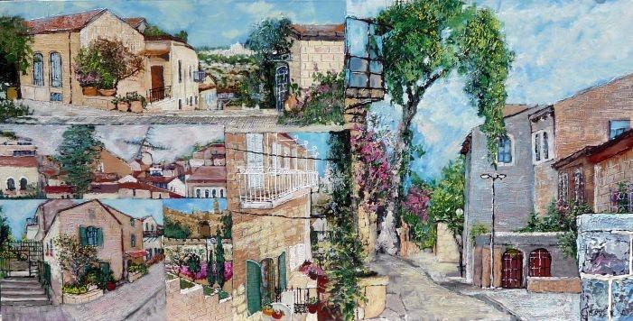 Nahlaot Scenery Jerusalem
