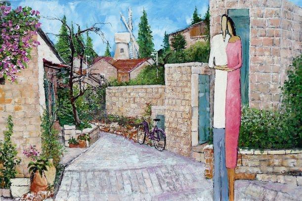 Yemin Moshe quarter Jerusalem