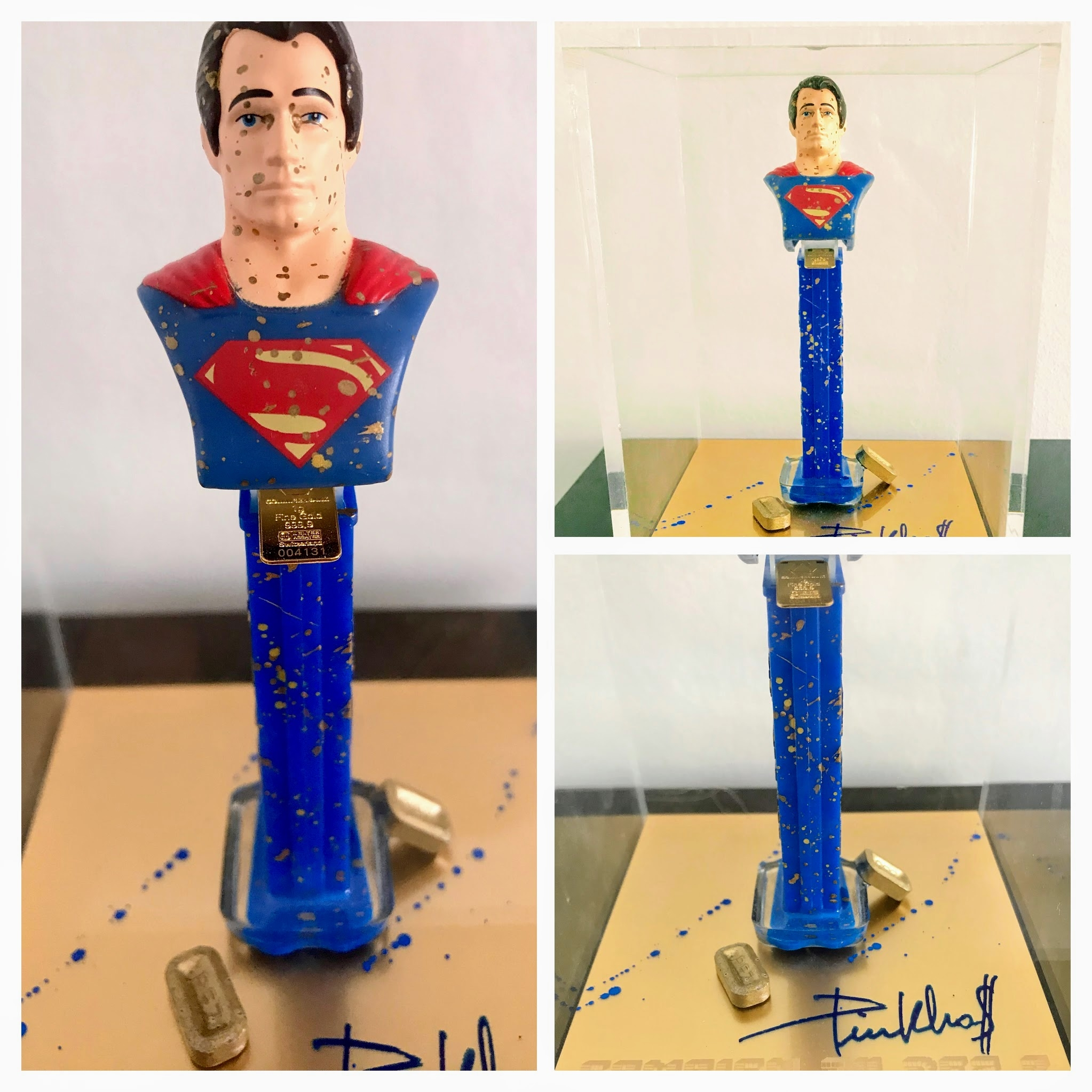 Superman Pez -Small